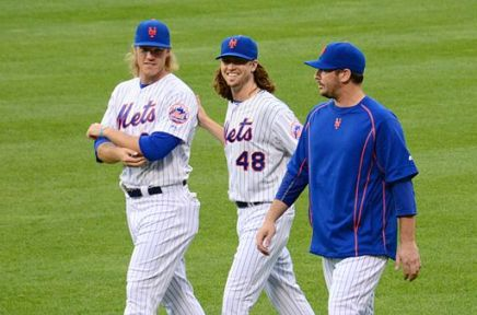 Noah_Syndergaard,_Jacob_deGrom_and_Matt_Harvey_on_August_10,_2015